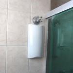 individualização água hidrometro parede fechado